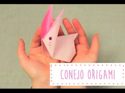 Conejito de Papel. Origami.Papiroflexia