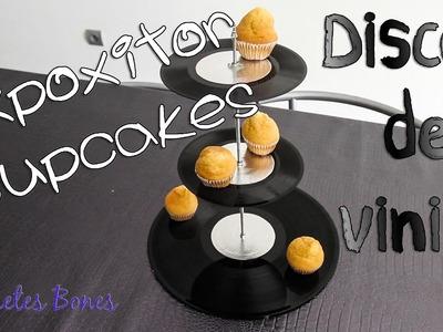 Cupcakes y vinilos ¿Expositor Hipster o vintage?