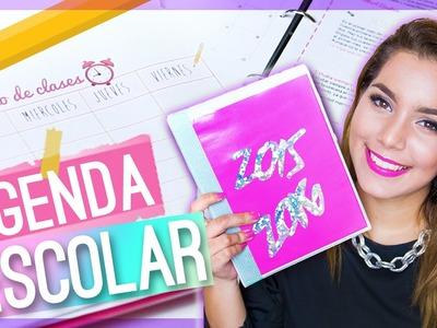 DIY AGENDA ESCOLAR 2015-2016 (REGRESO A CLASES) ♥ Jimena Aguilar