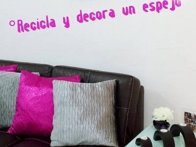 Diy Espejo decorativo por Fantasticazul