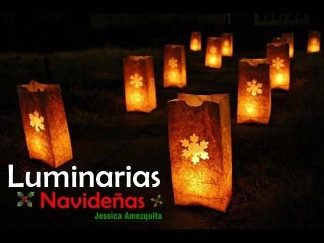DIY: Luminarias Navideñas
