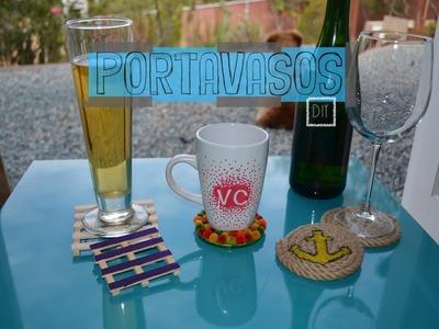 DIY | Portavasos para tus reuniones!