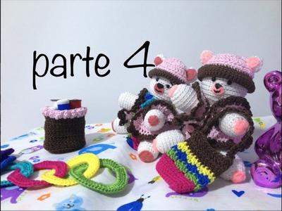 Oso tejido parte 4  #Amigurumis #Ganchillo #Crochet Teddy Bear DIY