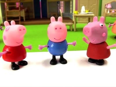 Peppa Pig con plastilina - Juguetes de Peppa Pig - Manualidades de plastilina