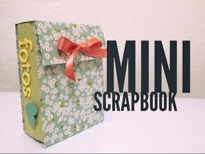 TUTORIAL Mini Scrapbook Regalo Fácil.Easy Gift