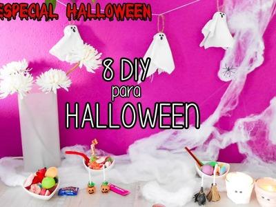 8 nuevos DIY para Halloween