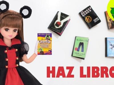 Cómo hacer libros para muñecas - Manualidades para muñecas