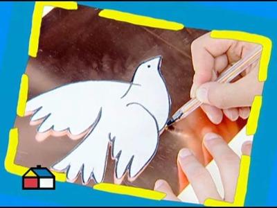 ¿Cómo hacer una paloma decorativa?