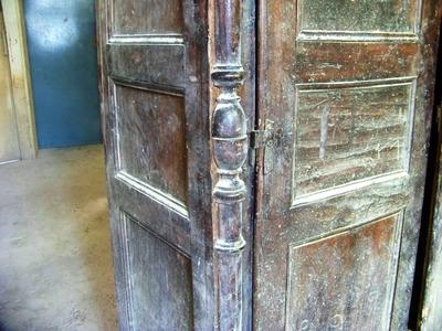 Como restaurar un mueble antiguo (1ª parte)