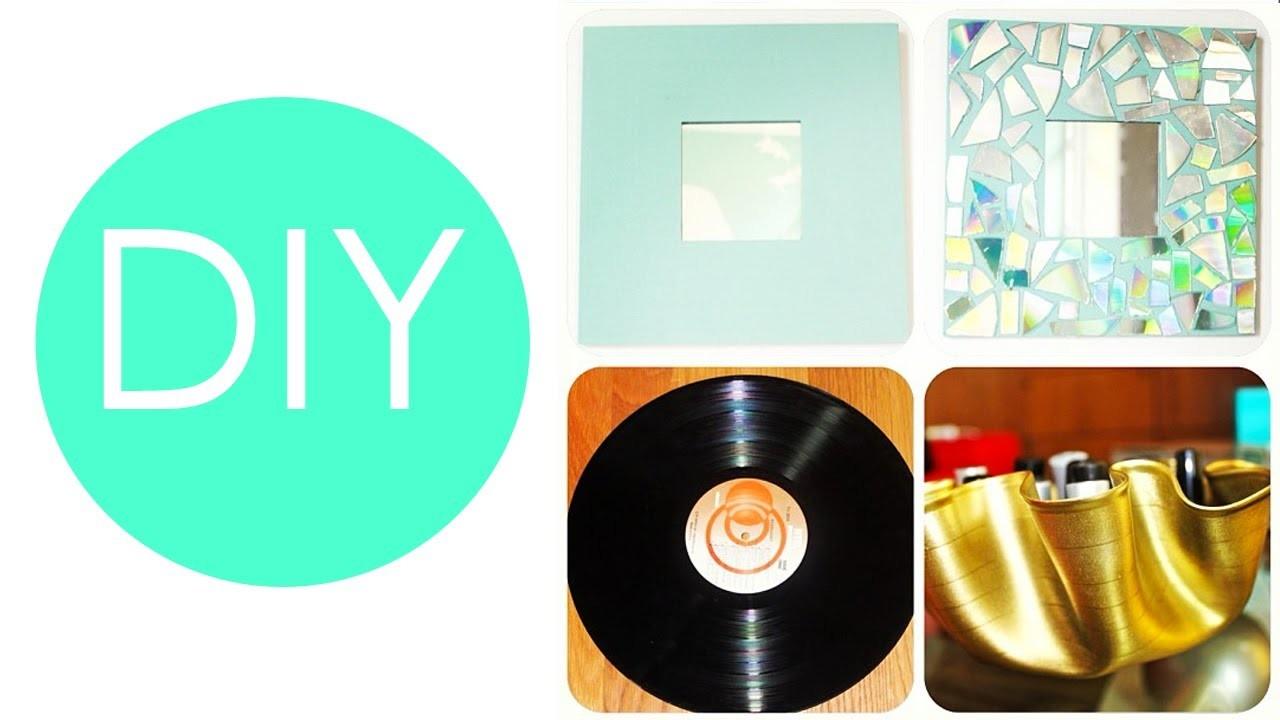 DIY - 3 ideas para decorar tu cuarto. habitación. recámara!