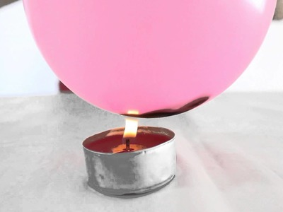 El globo que no explota (Experimentos caseros para niños)