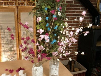 Flores de Papel de Primavera