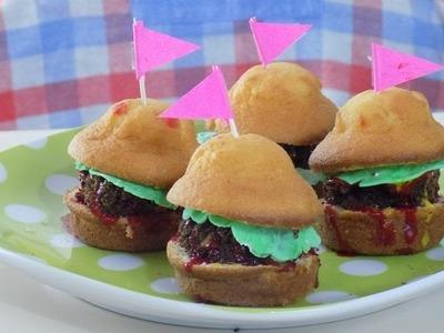 Hamburguesas dulces y sundae en microondas para DÍA DEL NIÑO