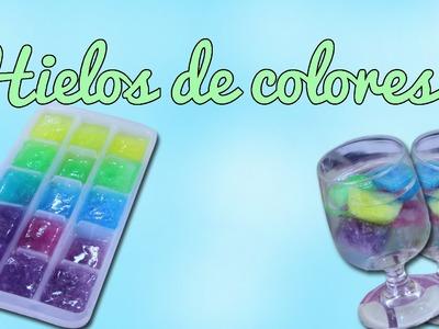 Hielos de colores (Manualidades Fáciles)