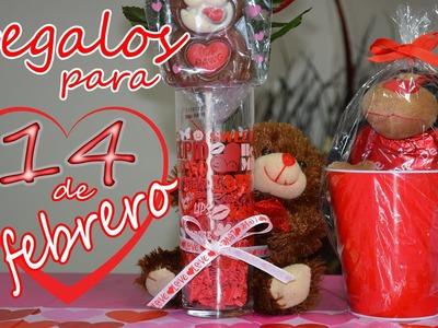 Los mejores regalos para el ♥♥ 14 de febrero ♥♥