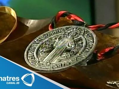 Los secretos detrás de la medalla de San Benito