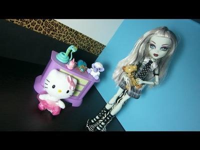 Manualidades para muñecas: Haz un soporte o base para tu muñeca Monster High