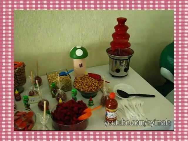 Mesa de Dulces Temática Para Fiesta Infantil - D-Tallitos.com
