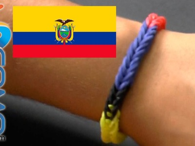 Pulsera de gomitas de Ecuador - Brazalete de ligas