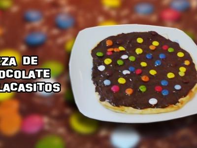 Recetas de Cocina | Como Hacer Pizza de Chocolate con Lacasitos