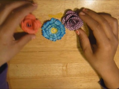 Tutorial: 2 tipos de flores de papel (embellecedores para scrap)