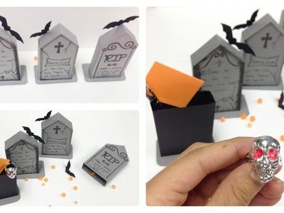 Cajita,invitación,tarjeta(Halloween\Dia de Muertos)