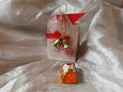 Cómo hacer cajas para regalos navideños | facilisimo.com