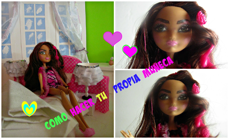 Como hacer tu propia muneca : Ever After High Doll: Manualidades con munecas
