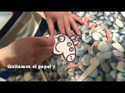 Como hacer una Peppa Pig de Fondant (www.racoinfantil.com)