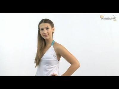 Cómo transformar una camiseta a vestido