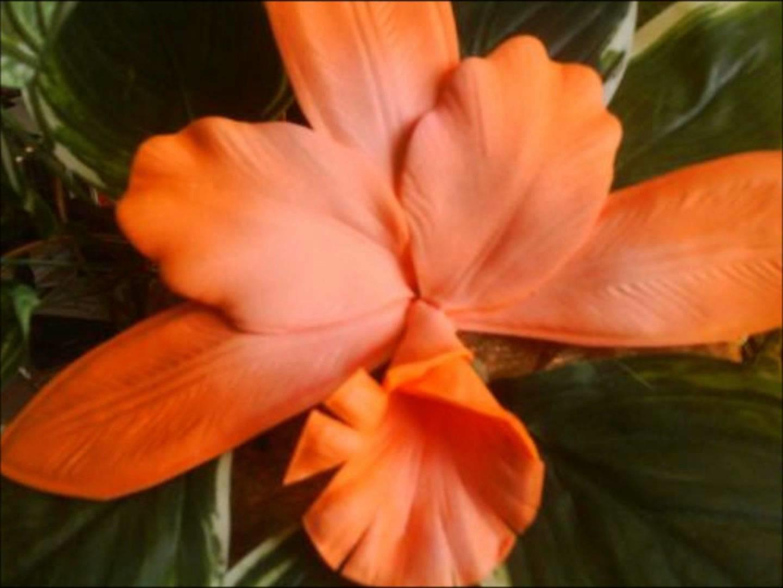 Curso decorado para fiesta arreglos florales en fomi termoformado