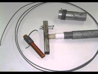 Curvadora de alambre artesana