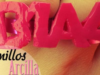 DIY: Anillos Arcilla Kpop -B1A4-