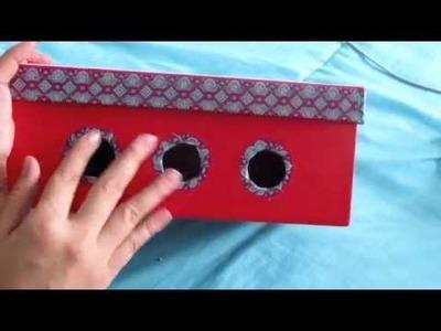 DIY Caja para Cables:: ORGANÍZATE::