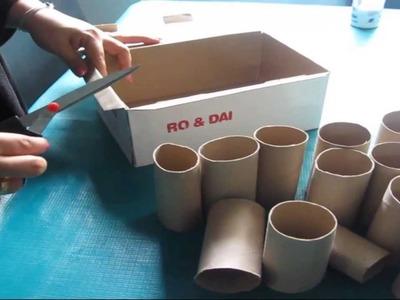 DIY; ¿Como hacer una cajita multiuso con materiales reciclados?