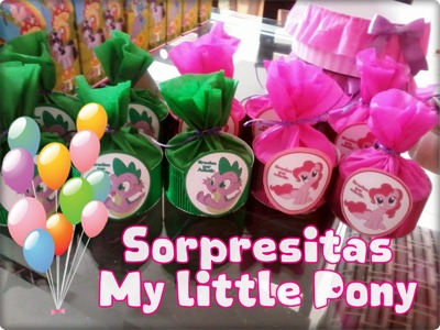 DIY Sorpresitas My little Pony. Novedadesconkatherine ♥