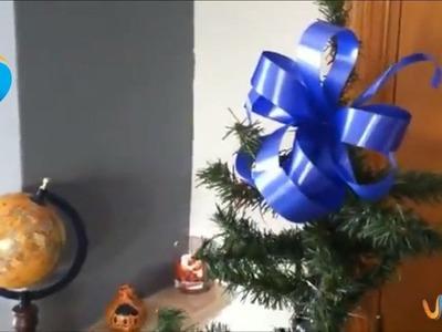 Lazos para decorar el árbol de navidad