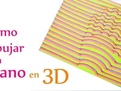 Manualidades para Niños: Cómo dibujar una MANO en 3D (muy fácil) - Innova Manualidades