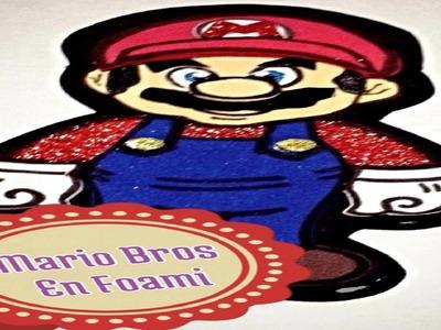 Mario Bros En Foami