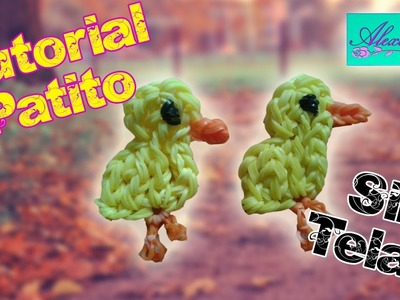 ♥ Tutorial: Patito de gomitas (sin telar) ♥