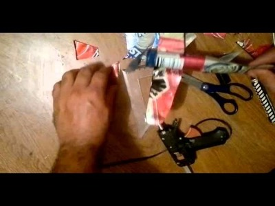 Avion hecho con latas de aluminio tutorial how to make an airplane with aluminum cans