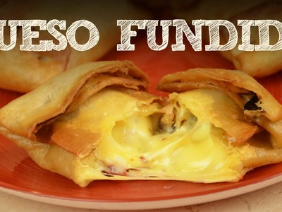 Bocadillos de queso fundido en 3 minutos FACIL | Recetas de cocina facil sin horno