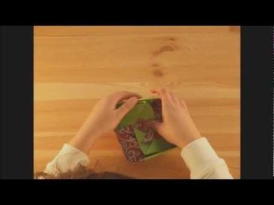 Caja de papiroflexia