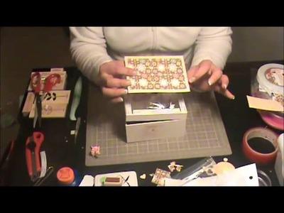 Caja Musical (reparación) - Scrapbooking con Lily
