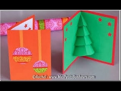 Como hacer Tarjeta de Navidad, Manualidades