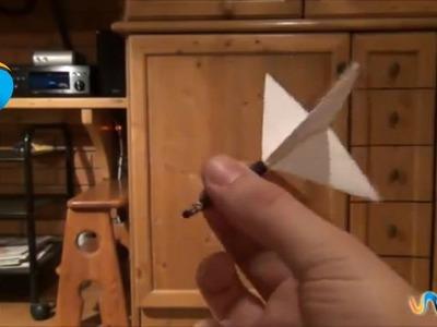 Cómo hacer un dardo casero