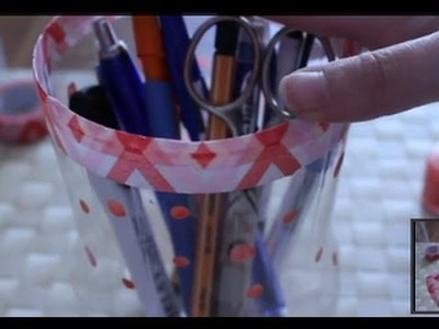 Cómo hacer un portalápices de plástico | facilisimo.com