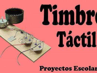 Cómo Hacer un Timbre Táctil Casero (muy fácil de hacer)