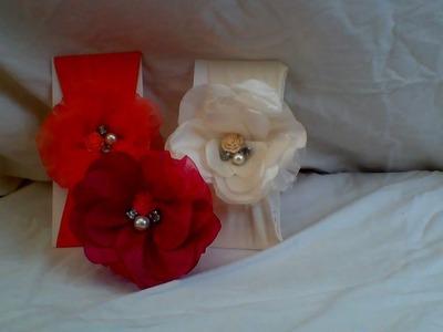 Como hacer una flor de tela | CREACIONES ROSA ISELA
