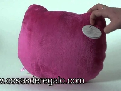 Demo Cojin pequeño con forma cara Hello Kitty